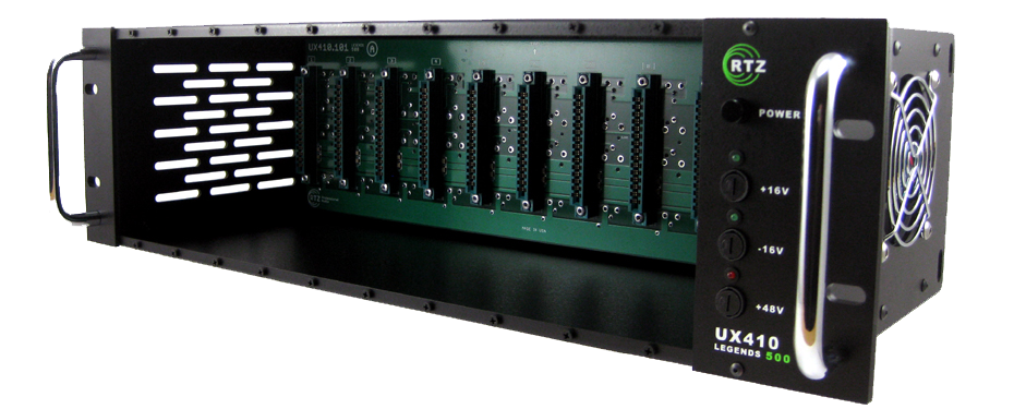 UX410 ten slot rack system